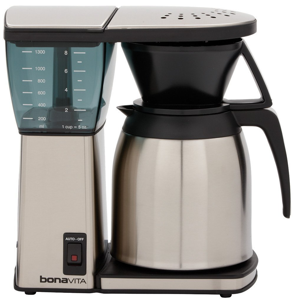 bonavita bv1800 8 cup coffee maker review coffee drinker
