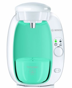 Bosch Tassimo T20 Beverage System and Coffee Brewer, Mint Blue