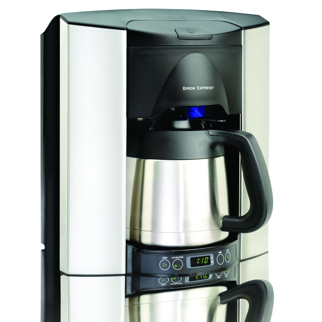 Krups Coffee Maker Reviews Ratings : KRUPS KT600 Silver Art Collection Thermal Carafe Coffee Maker Review - Coffee Drinker