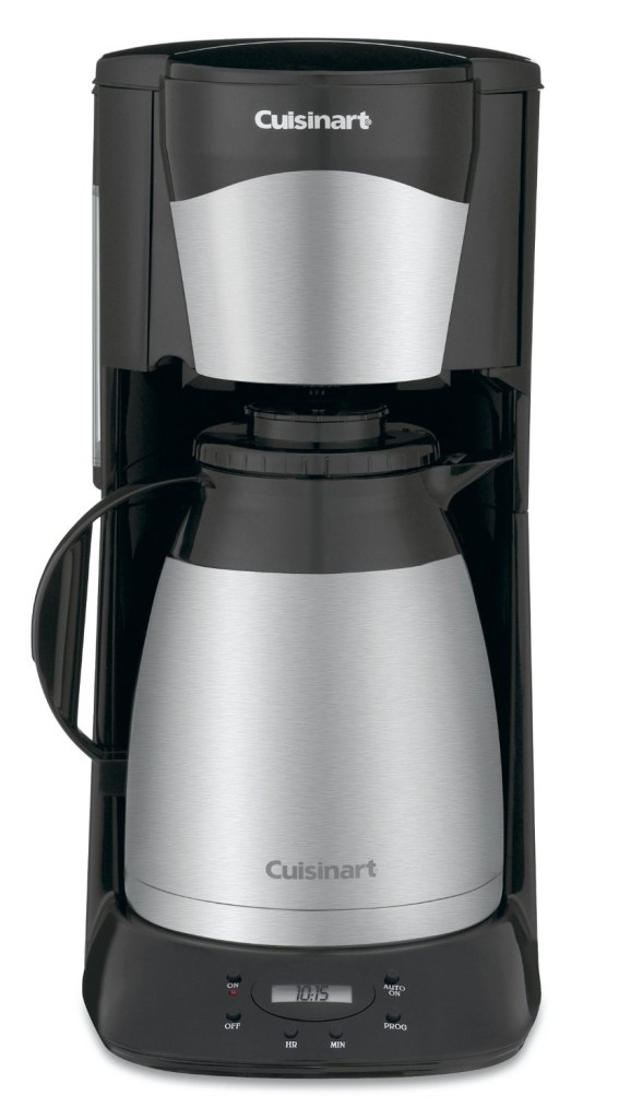 Thermal Coffee Maker Best Reviews : Cuisinart DTC-975BKN Thermal 12-Cup Programmable Coffeemaker Review - Coffee Drinker