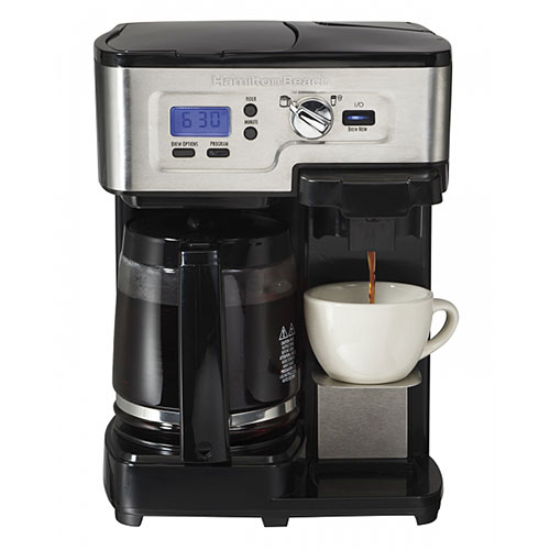 Hamilton Beach 49983 2 Way FlexBrew Coffemaker 2 Keurig K Cup Coffee Maker Reviews