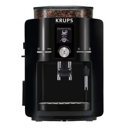 krups ea8250 espresseria fully automatic espresso machine review coffee drinker. Black Bedroom Furniture Sets. Home Design Ideas