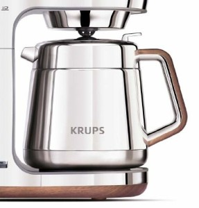 KRUPS KT600 Silver Art Collection Thermal Carafe Coffee Maker 1