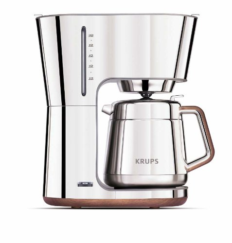 Krups Coffee Makers ~ Krups kt silver art collection thermal carafe coffee