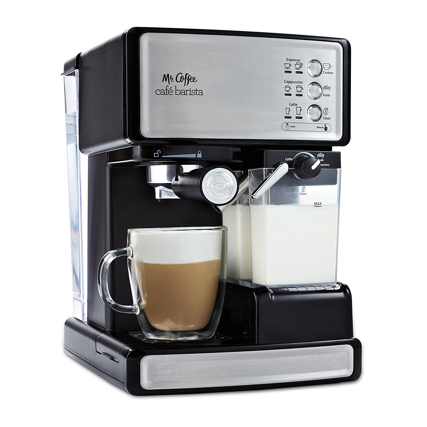 Mr Coffee BVMC-ECMP1000 Cafe Barista Espresso Machine