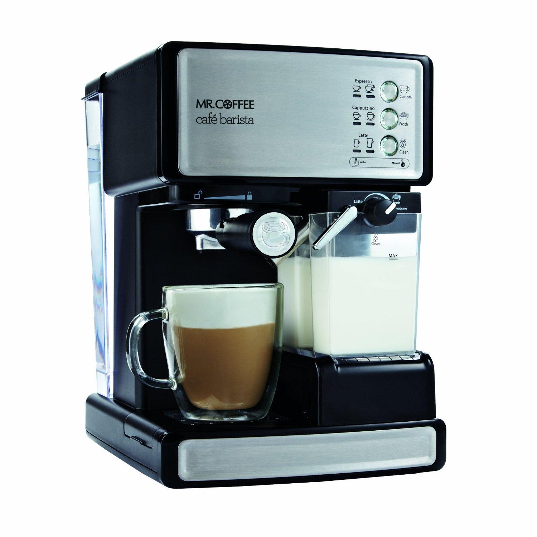 Mr. Coffee BVMC-ECMP1000 Cafe Barista Espresso Maker Review - Coffee Drinker