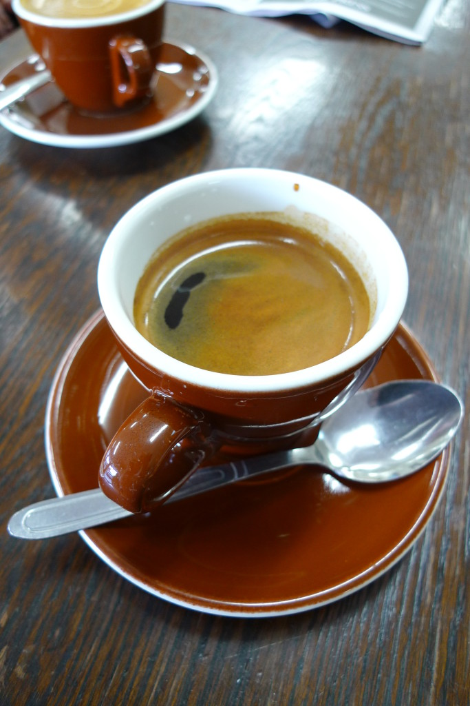 Cafe Americano – Italy's version of American-style coffee.