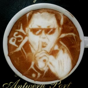 how to make coffee art