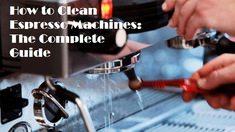 how to clean espresso machine
