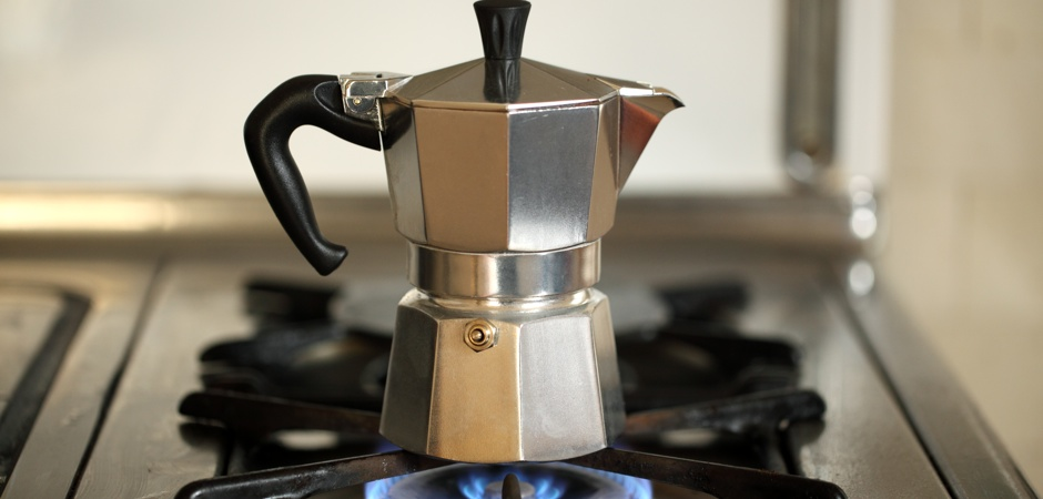 how to use a moka pot header